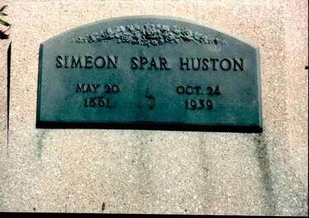 HUSTON, SIMEON - Van Buren County, Iowa | SIMEON HUSTON