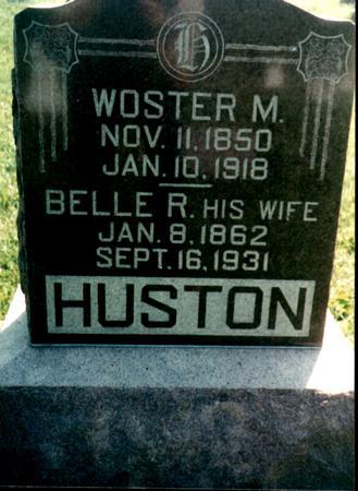 HUSTON, WOSTER - Van Buren County, Iowa | WOSTER HUSTON