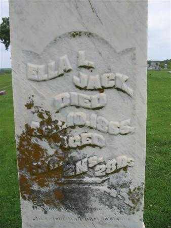 JACK, ELLA L. - Van Buren County, Iowa | ELLA L. JACK