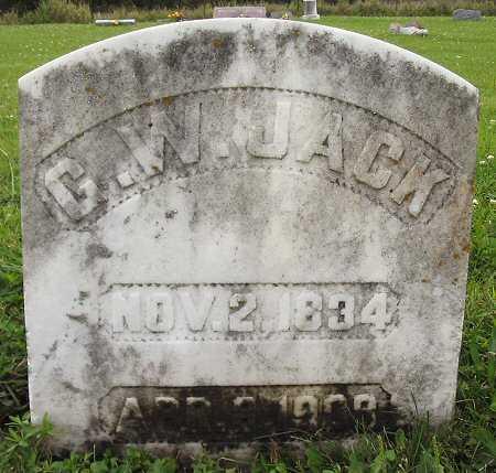 JACK, G. W. - Van Buren County, Iowa   G. W. JACK