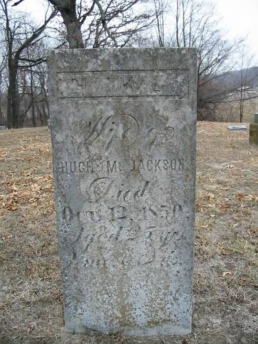 JACKSON, ELIZA - Van Buren County, Iowa | ELIZA JACKSON