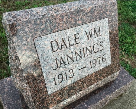 JANNINGS, DALE WM - Van Buren County, Iowa | DALE WM JANNINGS