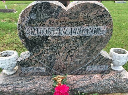 DOUGHERTY JANNINGS, MILDRED A - Van Buren County, Iowa | MILDRED A DOUGHERTY JANNINGS