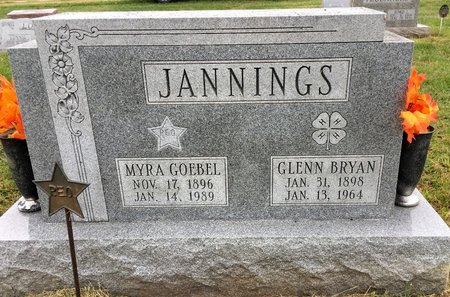 GOEBEL JANNINGS, MYRA - Van Buren County, Iowa | MYRA GOEBEL JANNINGS