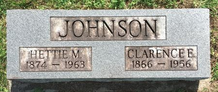JOHNSON, CLARENCE E - Van Buren County, Iowa | CLARENCE E JOHNSON