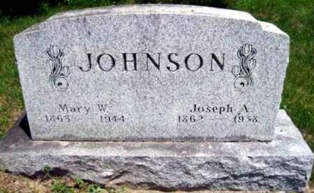 JOHNSON, JOSEPH A - Van Buren County, Iowa | JOSEPH A JOHNSON