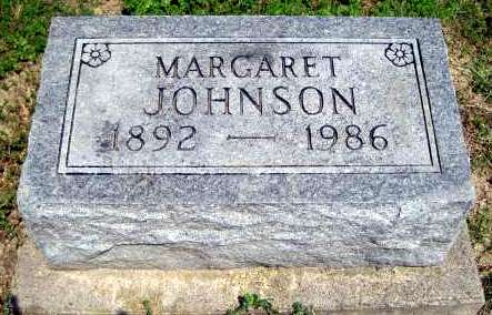 JOHNSON, MARGARET - Van Buren County, Iowa | MARGARET JOHNSON