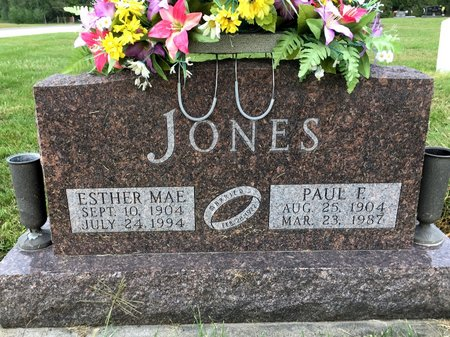 JONES, PAUL E - Van Buren County, Iowa | PAUL E JONES