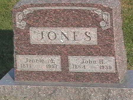 JONES, JOHN - Van Buren County, Iowa | JOHN JONES