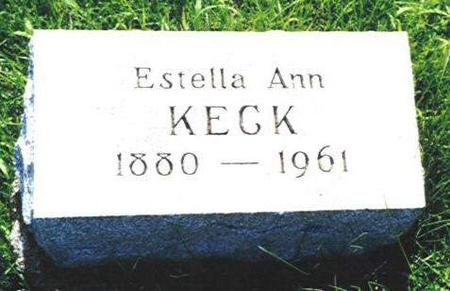 KECK, ESTELLA ANN - Van Buren County, Iowa | ESTELLA ANN KECK