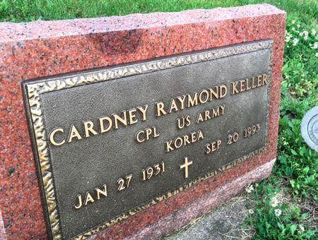 KELLER, CARDNEY RAYMOND - Van Buren County, Iowa | CARDNEY RAYMOND KELLER