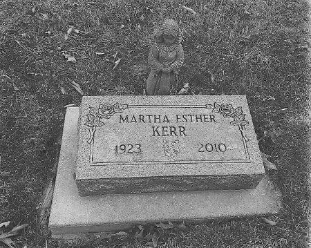 KERR, MARTHA ESTHER - Van Buren County, Iowa | MARTHA ESTHER KERR