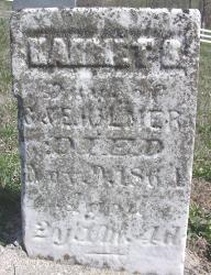 KILMER, HARRIET? - Van Buren County, Iowa | HARRIET? KILMER