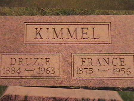 KIMMEL, DRUZIE - Van Buren County, Iowa | DRUZIE KIMMEL