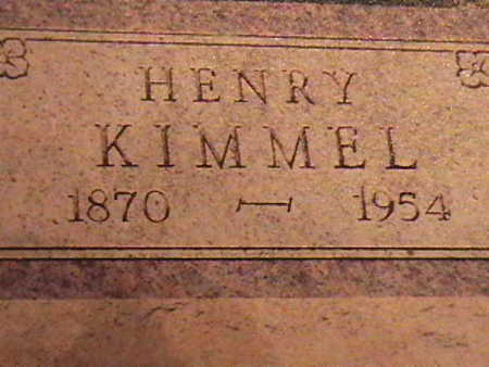 KIMMEL, HENRY - Van Buren County, Iowa | HENRY KIMMEL