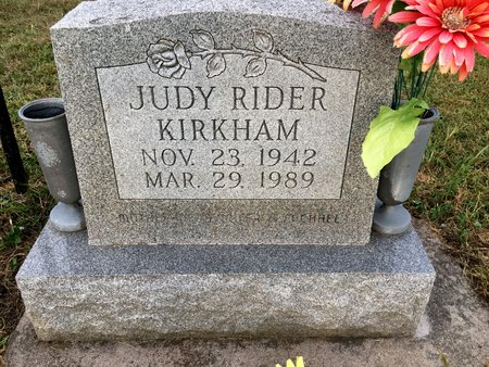 RIDER KIRKHAM, JUDY - Van Buren County, Iowa | JUDY RIDER KIRKHAM