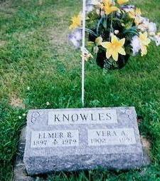 BROWN KNOWLES, VERA A - Van Buren County, Iowa | VERA A BROWN KNOWLES