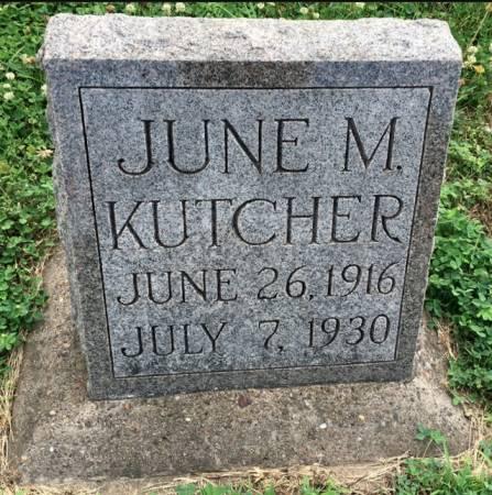 KUTCHER, JUNE M. - Van Buren County, Iowa | JUNE M. KUTCHER