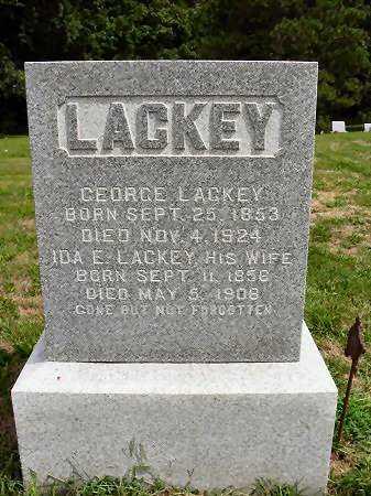 LACKEY, IDA E. - Van Buren County, Iowa | IDA E. LACKEY