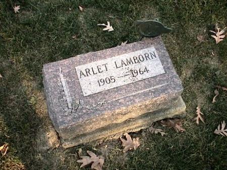 LAMBORN, ARLET - Van Buren County, Iowa | ARLET LAMBORN