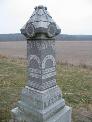 LAYTON, JOSEPH B. & BURNETTA E. - Van Buren County, Iowa | JOSEPH B. & BURNETTA E. LAYTON