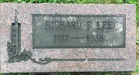 LEE, RICHARD P - Van Buren County, Iowa | RICHARD P LEE