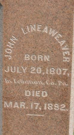 LINEAWEAVER, JOHN - Van Buren County, Iowa | JOHN LINEAWEAVER