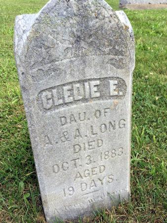 LONG, CLEDIE E. - Van Buren County, Iowa   CLEDIE E. LONG