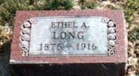 LONG, ETHEL RICKARD - Van Buren County, Iowa | ETHEL RICKARD LONG