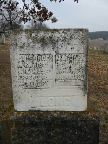LONG, GEORGE & MARJARY - Van Buren County, Iowa | GEORGE & MARJARY LONG