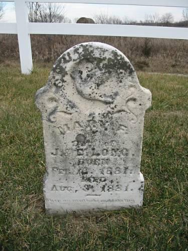 LONG, MARY F. - Van Buren County, Iowa   MARY F. LONG