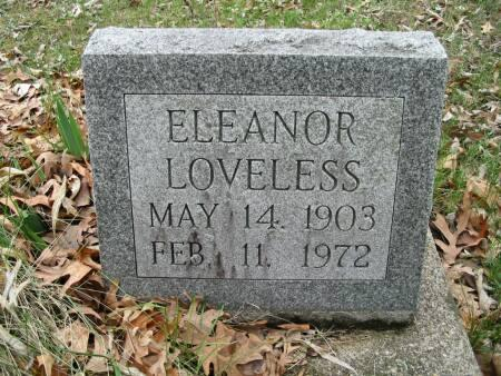 LOVELESS, ELEANOR - Van Buren County, Iowa | ELEANOR LOVELESS