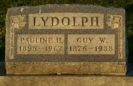LYDOLPH, GUY W. - Van Buren County, Iowa   GUY W. LYDOLPH