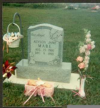 MABE, ALYSON JANE - Van Buren County, Iowa   ALYSON JANE MABE