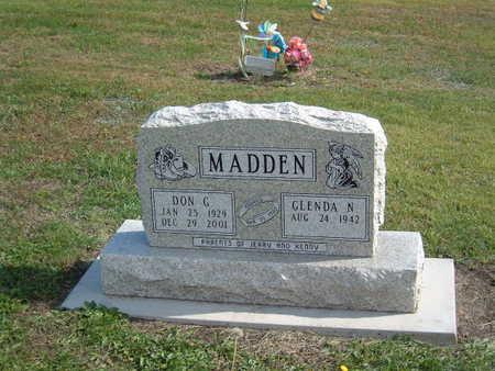 HARKER MADDEN, GLENDA - Van Buren County, Iowa | GLENDA HARKER MADDEN