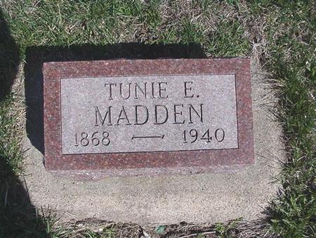 MILLER MADDEN, TUNIE - Van Buren County, Iowa | TUNIE MILLER MADDEN