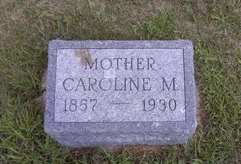 MALEY, CAROLINE - Van Buren County, Iowa   CAROLINE MALEY
