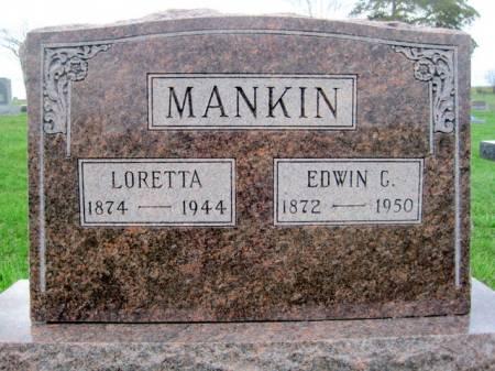 MANKIN, EDWIN CLARENCE - Van Buren County, Iowa | EDWIN CLARENCE MANKIN