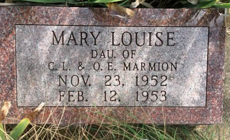 MARMION, MARY LOUISE - Van Buren County, Iowa | MARY LOUISE MARMION