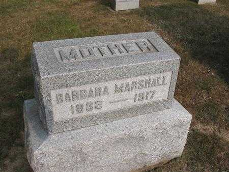 GIBSON MARSHALL, BARBARA - Van Buren County, Iowa | BARBARA GIBSON MARSHALL