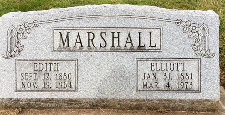 MARSHALL, EDITH - Van Buren County, Iowa | EDITH MARSHALL