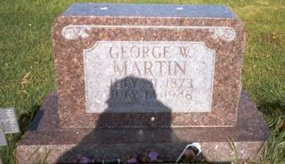 MARTIN, GEORGE - Van Buren County, Iowa   GEORGE MARTIN