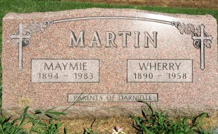 MARTIN, WHERRY - Van Buren County, Iowa | WHERRY MARTIN