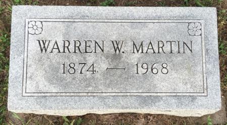 MARTIN, WARREN W - Van Buren County, Iowa | WARREN W MARTIN