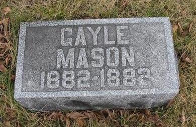 MASON, GAYLE - Van Buren County, Iowa | GAYLE MASON