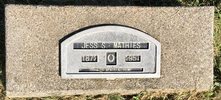 MATHIES, JESS S - Van Buren County, Iowa | JESS S MATHIES