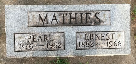 HARDY MATHIES, PEARL - Van Buren County, Iowa | PEARL HARDY MATHIES