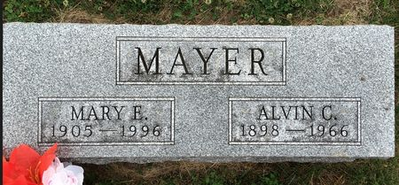 BYERS MAYER, MARY E - Van Buren County, Iowa | MARY E BYERS MAYER