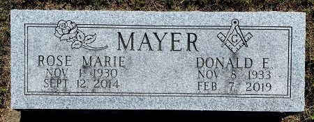 KOEHLER MAYER, ROSE MARIE - Van Buren County, Iowa | ROSE MARIE KOEHLER MAYER