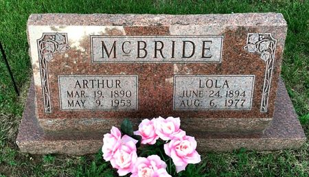 HUSTON MCBRIDE, LOLA - Van Buren County, Iowa | LOLA HUSTON MCBRIDE